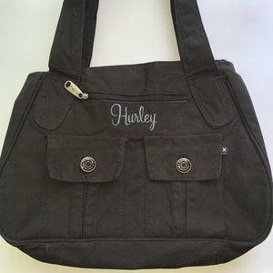 Hurley Cloth Hobo 3 front pockets
